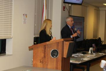 Judge Steven Levin and Judge Laurie Buchanan discussed dependency court.