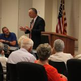 Chief Assistant State Attorney Thomas Bakkedahl presents during Your Courts Up Close.