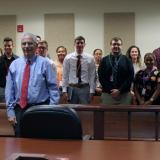 IRSC students visited the St. Lucie County Courthouse
